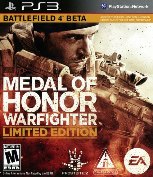 Jogo Medal Of Honor Warfighter Ps3 Mídia Física Frete Grátis