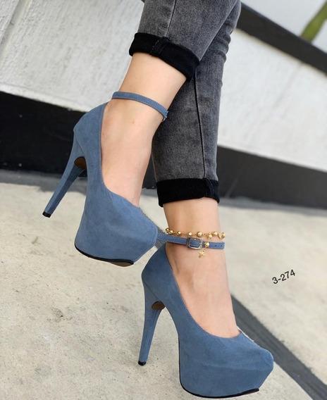 Zapatos Plataforma Dama Moda Colombiana