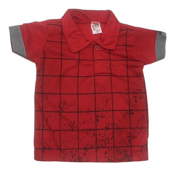 10 Camisa Infantil Polo Masculina Menino Roupas Atacado