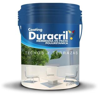 Duracril Membrana Liquida Poliuretanica Techos 20 Kg Oferta