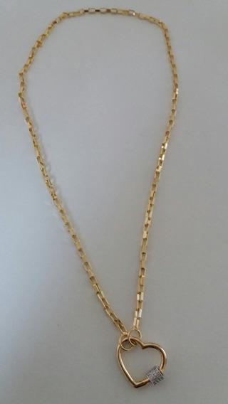Colar Cartier, Banhado A Ouro- Semi Joia De Luxo