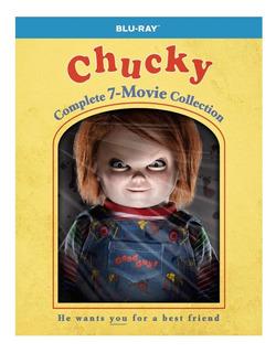 Chucky Muñeco Diabólico Colección Completa Blu Ray.