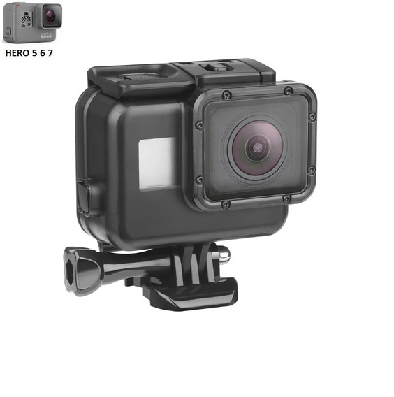 Caixa Estanque Blackout Case Touch Gopro Hero 5 , 6, 7