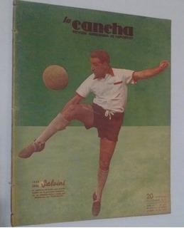 Revista La Cancha Nº 825 - Salvini Huracan - Boca Atlanta
