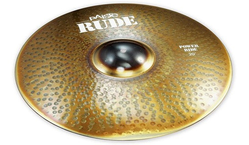 Ftm Paiste Rude Pr-20 - Platillo Power Ride 20  - Envios