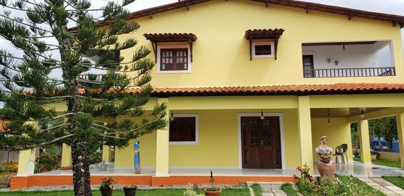 Casa Cond Fechado Com Ótima Estrutura E Bem Arborizado Cont