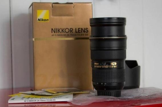 Lente Nikon 24-70mm 2.8 Nikkor
