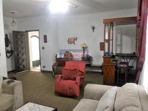 Sobrado Com 4 Dormitórios À Venda, 245 M²  - Jardim Bom Clima - Guarulhos/sp - Ai3783