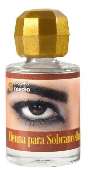 Henna Para Sobrancelhas Della E Delle 8g Profissional Promoção