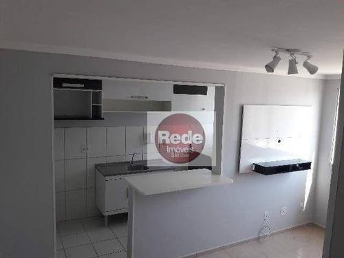 Imagem 1 de 9 de Apartamento À Venda, 47 M² Por R$ 185.000,00 - Parque Residencial Flamboyant - São José Dos Campos/sp - Ap4076