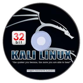 Live/cd Kali Linux 2018.4 32-bit (envio Carta Registrada)