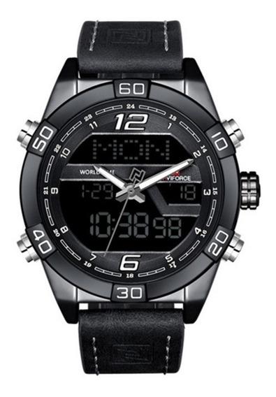 Relógio De Pulso Masculino Naviforce Nf 9128