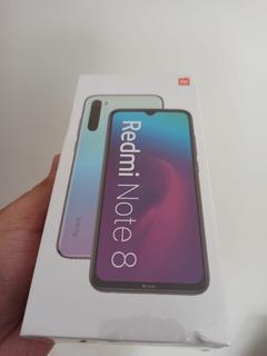 Xiaomi Redmi Note 8 4gb 64gb Preto - Lacrado
