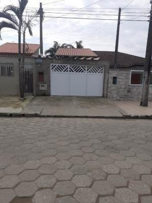 Casa Lado Praia Com 3 Quartos Em Itanhaém/sp 7029-pc