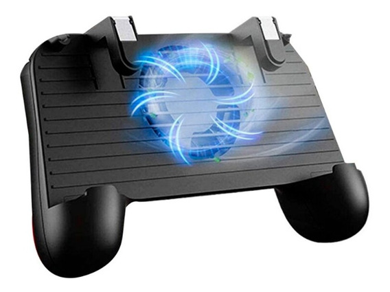 Controle Gamepad Sr Joystick Free Fire Pugb R1 L1 Com Cooler