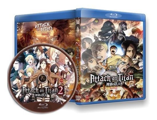 Attack On Titan (segunda Temporada) - Box Blu-ray 1080p