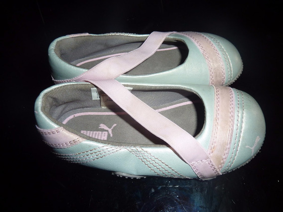 Hermosos Zapatos Tipo Guillermina Puma Originales Talle 22