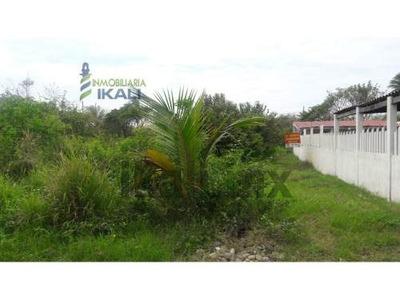 Venta Terreno 303.49 M² La Calzada Tuxpan Veracruz. El Terreno Se Encuentra Atrás Del Restaurante Checo