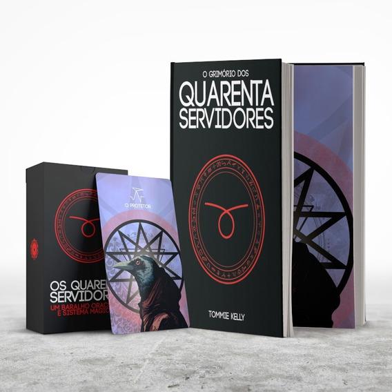 Combo Quarenta Servidores - Livro + Baralho