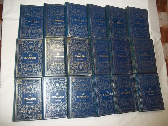 52 Livros Coleção Os Pensadores Editora Abril