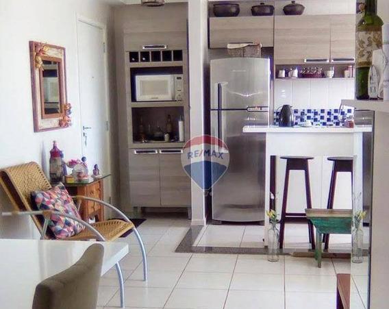 Apartamento Com 3 Dormitórios À Venda, 69 M² Por R$ 265.000,00 - Canjica - Cuiabá/mt - Ap0756