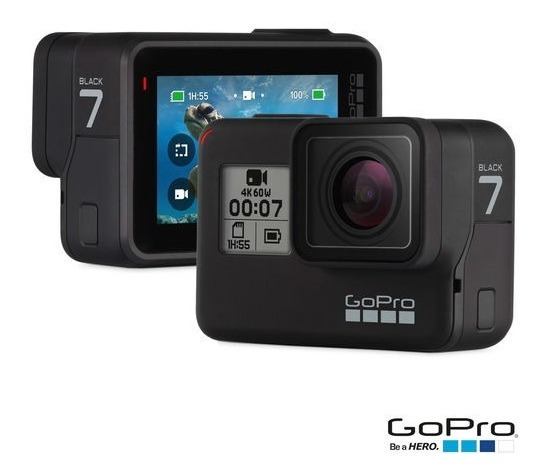 Filmadora Dig. Hero7 Black 12mp 4k Wifi Bluetooth Chdhc-601