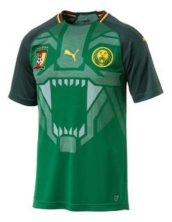 Camisa+calção Time Camarões/puma 2018/2019