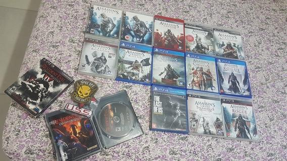 Colecao Assassins Creed Ps3 Ps4