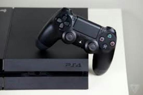 Playstation4 500gb De Memoria Mas 2 Jogos Pes 2016 E 2015