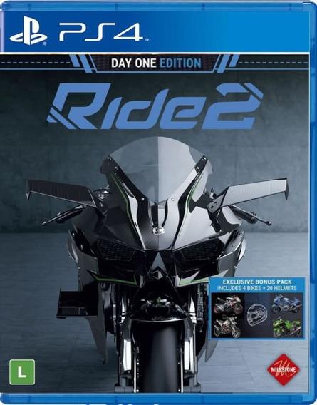 Ride 2 - Ps4 - Midia Fisica - Novo