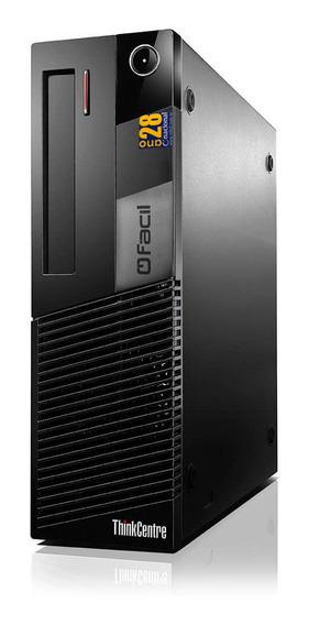 Computador Fácil Intel Core I5 2.70 Ghz 8gb Ddr3 Ssd 120gb