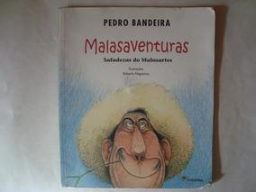 Livro Malasaventuras - Pedro Bandeira