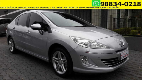 Peugeot 408 Griffe Thp 1.6 Turbo 2014 - Único Dono!!