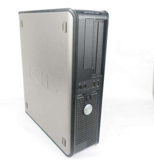 Cpu Dell Optiplex 745 Intel 3.40ghz 2gb Hd 80gb Win 7 Oferta