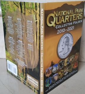 Album Coleccionador Whitman Monedas Cuartos Parques N