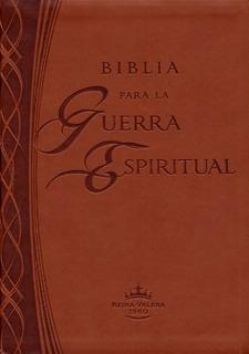 Biblia De Estudio Para La Guerra Espiritual - Marron