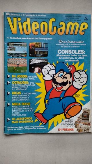 Revista Videogame Número 1 Rara Mario Bros 84 Jogos E146