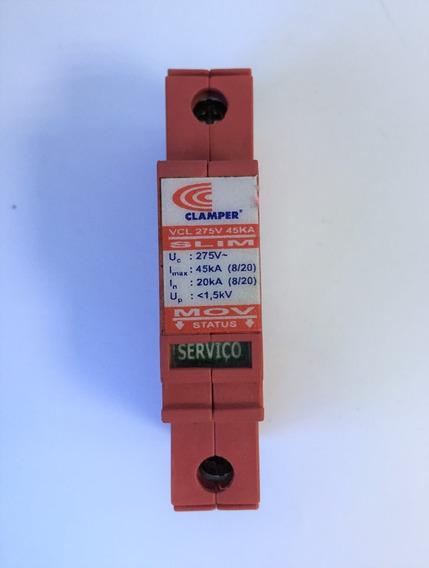 Dispos. De Proteção Contra Surtos Vcl275v 45ka Slim Clamper