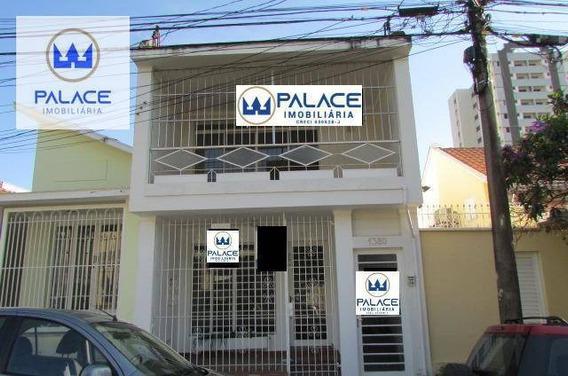 Casa Com 2 Dormitórios Para Alugar, 87 M² Por R$ 1.200/mês - Alto - Piracicaba/sp - Ca0085