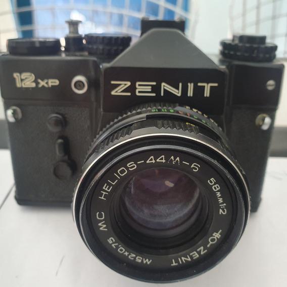Camera Fotografica,zenit, 12xp Antiguidade,reliquia.
