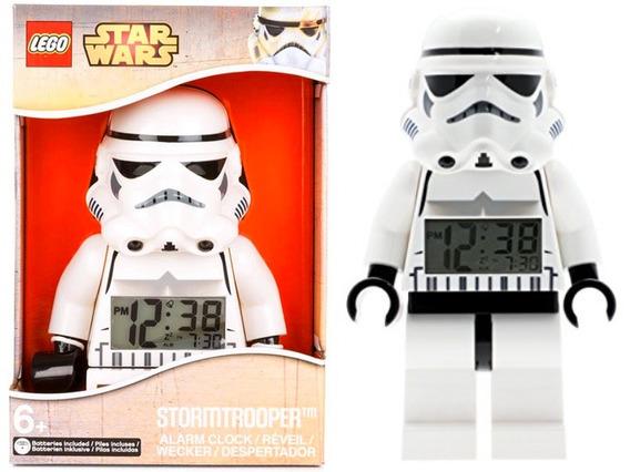 Reloj Alarma Lego Stormtrooper Star Wars Despertador