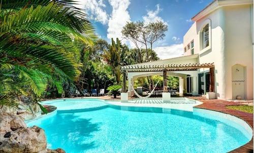 Espectacular Casa En Playacar Fase Ii Frente A La Laguna Y Campo De Golf P3150