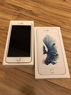 iPhone 6s 128gb Prata Tela Retina Hd 4,7 3d Touch Câmera 12