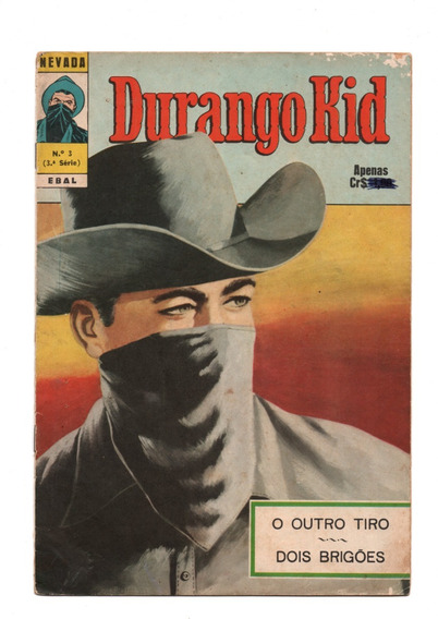 Nevada Nº 03 - Durango Kid - Ebal-1973 - Muito Bom # Katram