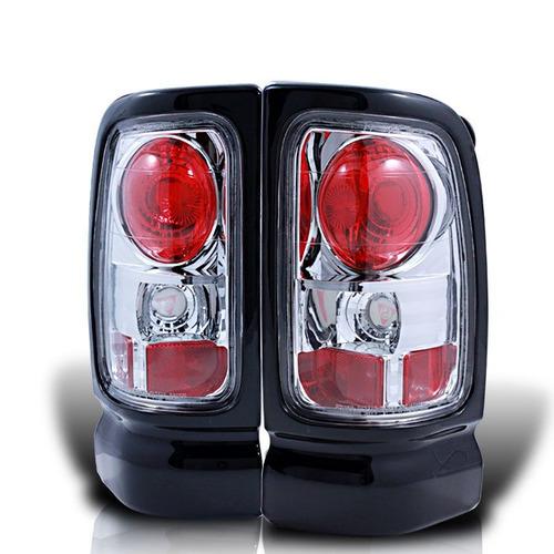 Imagem 1 de 3 de Lanterna Dodge Ram 1994 95 1996 1997 98 1999 2000 2001 Cromo