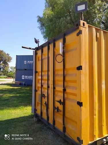 Contenedores Marítimos 20' Usados. Containers Nacionalizado