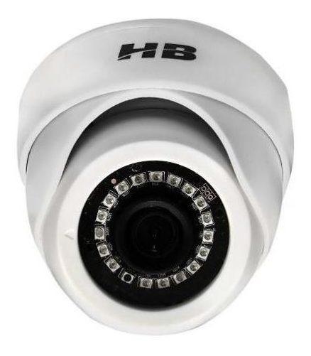 Câmera Dome Hb-2003 Ahd Hdcvi Tvi E Analógica 2 Mega Full Hd 1080p Hbtech
