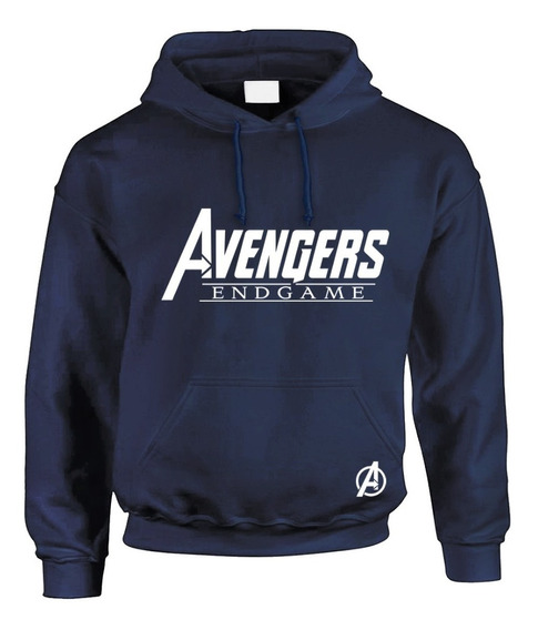 Sudadera Hoodie Avengers Endgame Marino Precio Especial!!