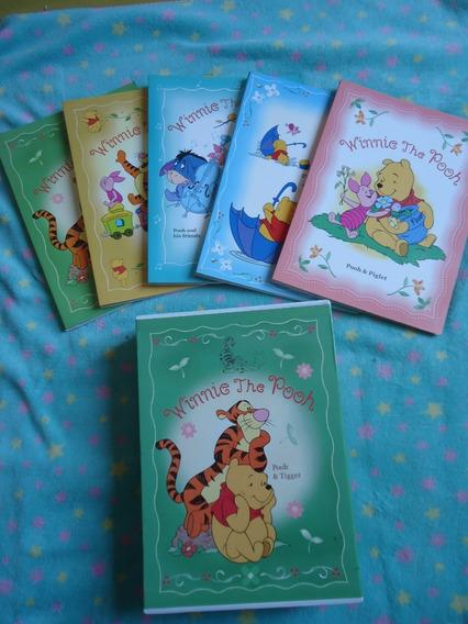 Box De Fotos Com 5 Álbum Do Pooh Disney Do Japão Usado