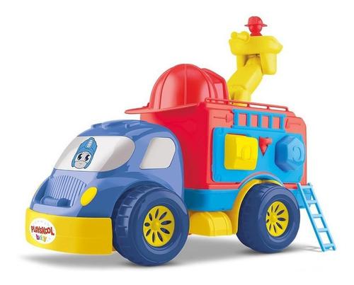 Imagem 1 de 2 de Caminhão Bombeiro Divertoys Playskool Transformers 8149